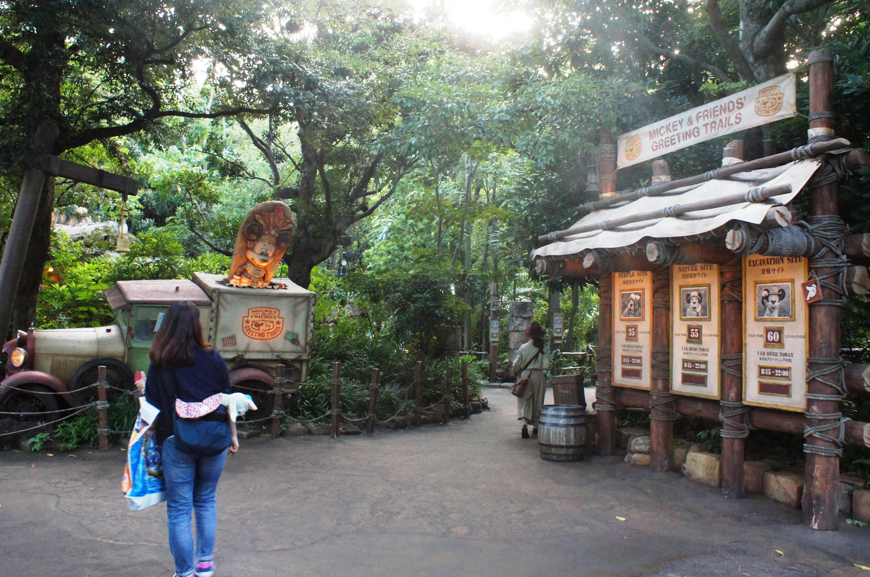 Mickey & Friends' Greeting Trails