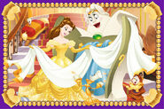 Belle and servant friends