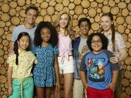 Bunk'd cast and characters