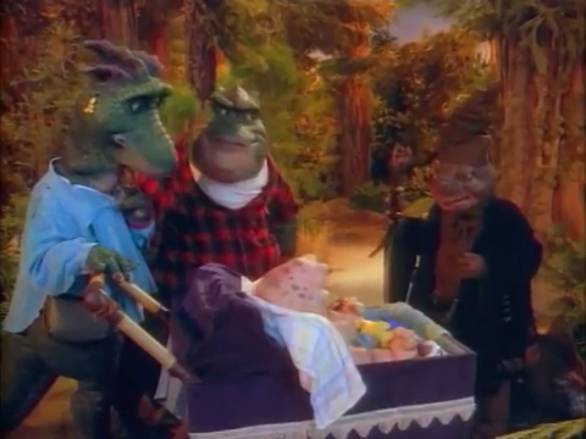 Germ Warfare (Dinosaurs)