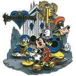 Mickey Donald Goofy KH Pin