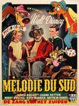 Song of the south belgium poster original