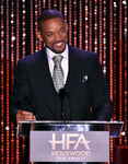 Will Smith speaks at HFA