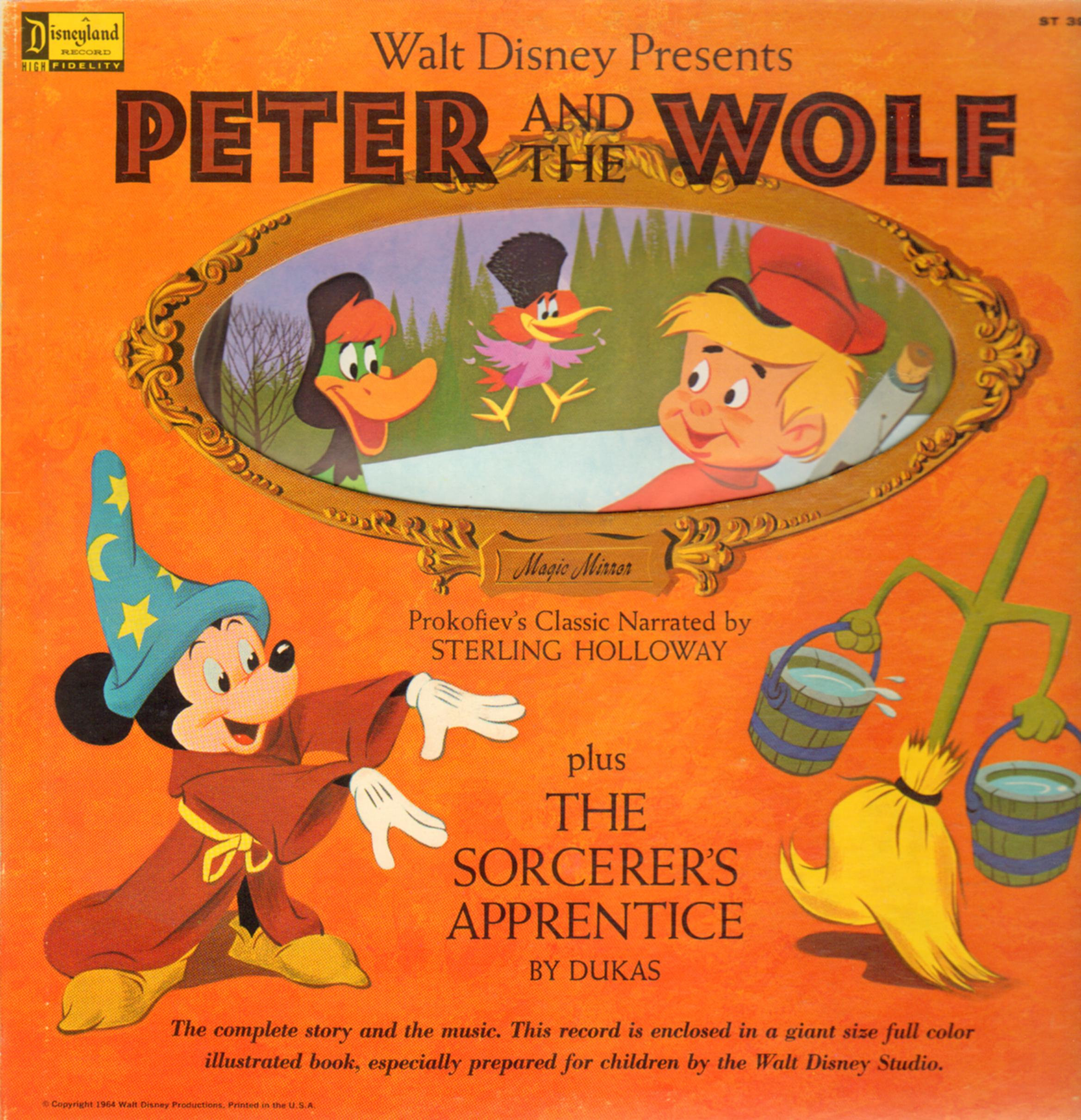 Walt Disney Presents Peter and the Wolf (plus The Sorcerer's Apprentice)