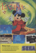 Fantasia Videogame -Print Ad