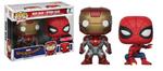 Iron Man Spider-Man Funko Pop