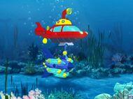 Rocket underwater turbine booster