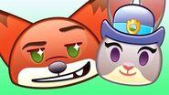 Zootopia As Told By Emoji Disney