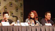Jason Marsden, Vanessa Marshall, and Gregg Berger at Cartoon Voices II Panel