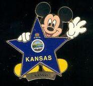 Kansas Flag Pin