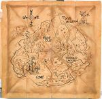 Never Land Map Pirate Fairy