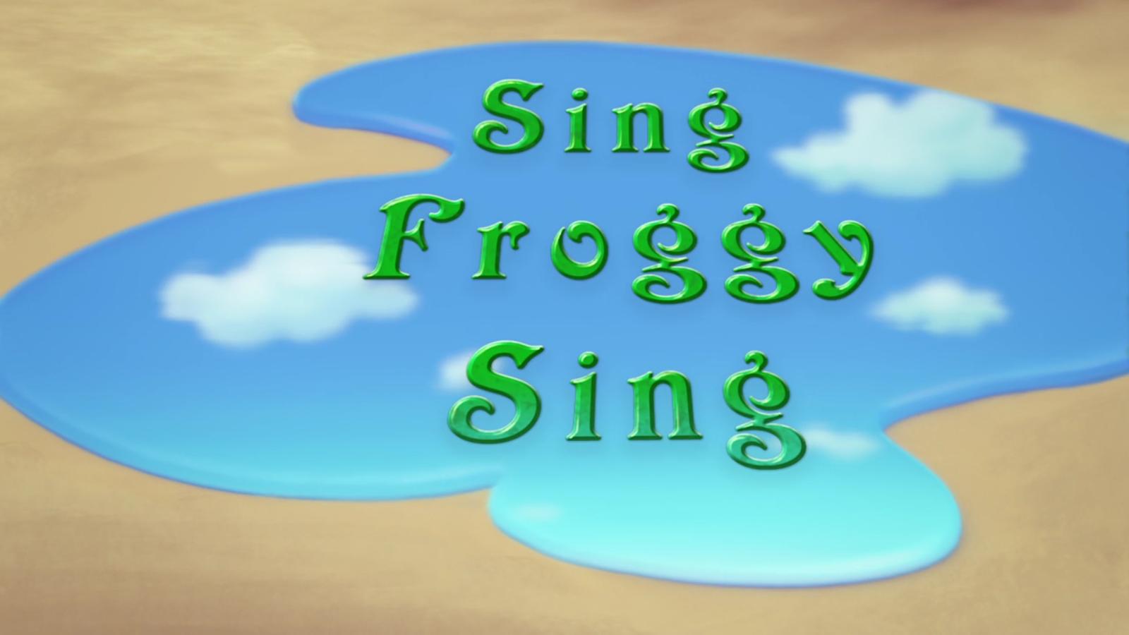 Sing Froggy Sing
