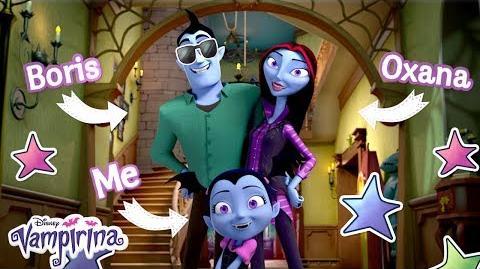 Vee's Family! Vampirina Disney Junior
