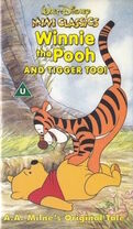 Winnie the Pooh and Tigger Too UK VHS