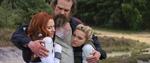 Alexei hugs Yelena and Natasha - Black Widow