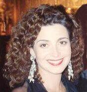Annie Potts at the Governor's Ball following the 41st Annual Emmy Awards cropped and airbrushed