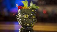 Shrunken Head Zombie Cocktail
