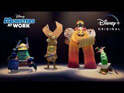 Sneak Peek - Monsters At Work - Disney+