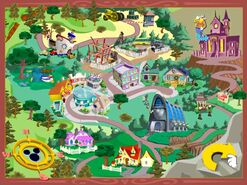 Disneyville map from Mickey Saves the Day 3D Adventure