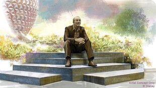 Dreamers-point-walt-disney-statue-EPCOT-concept-art-8823653