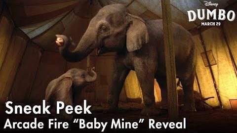 "Dumbo Arcade Fire ""Baby Mine"" Reveal"