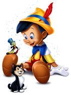 Pinocchio character art