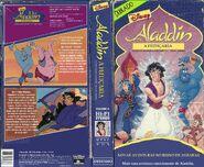 Aladdin - a feitiçaria vhs de 1996