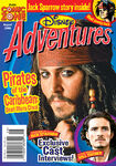 Disney Adventures Magazine cover August 2006 Pirates of the Caribbean Dead Mans Chest