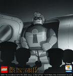 LEGO Incredibles portraits - Mr. Incredible
