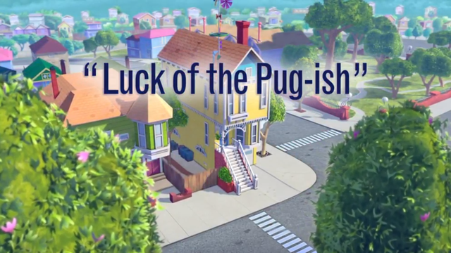 Luck of the Pug-ish