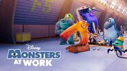 Monsters at work poster 2021