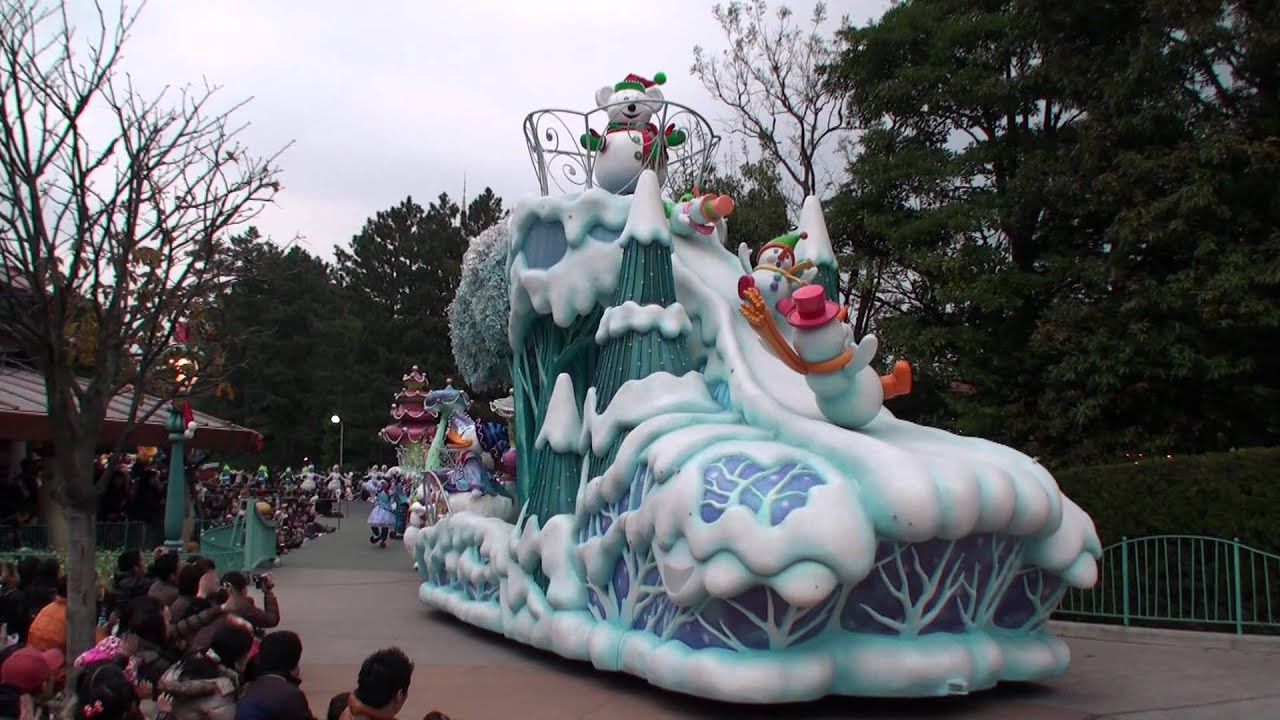 Disney's White Holiday Parade