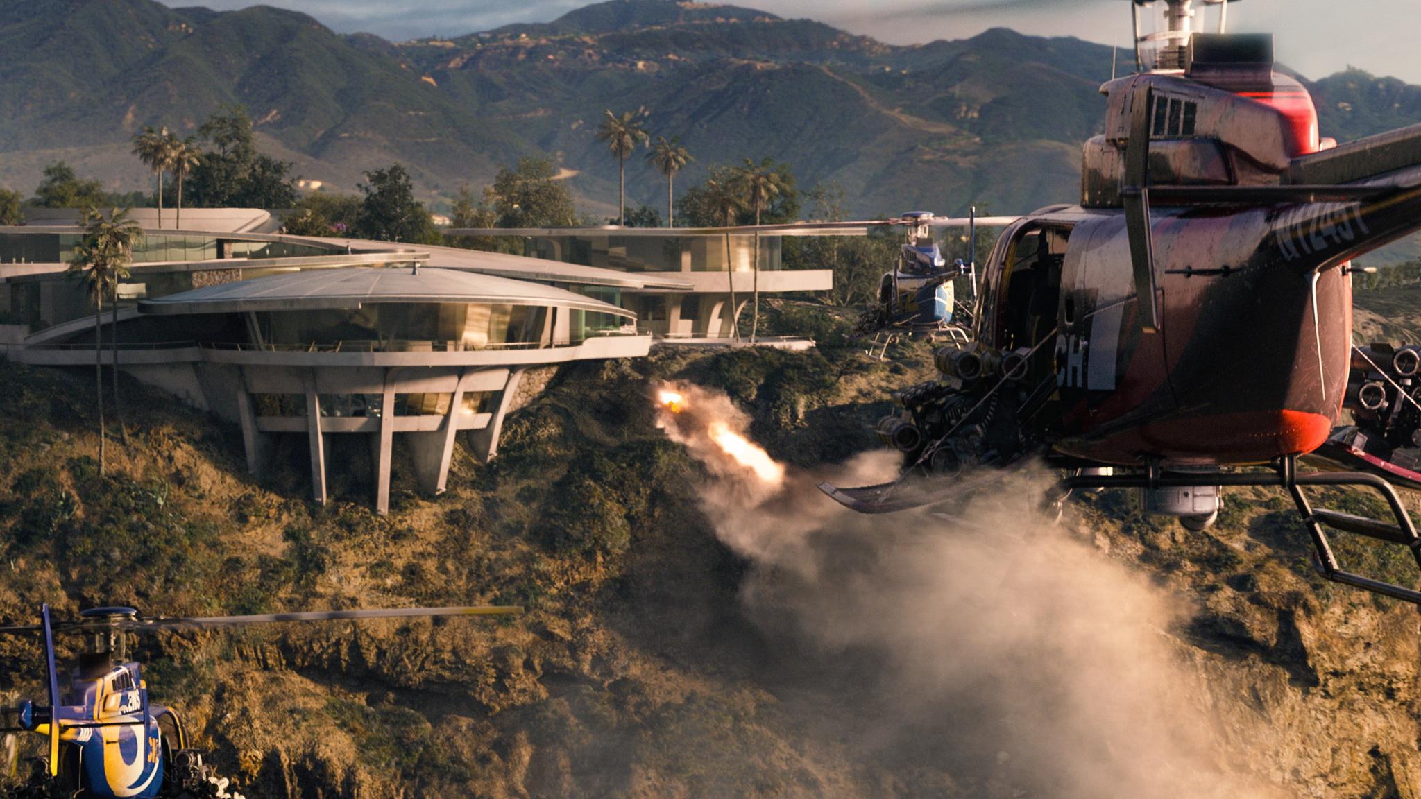 Tony Stark's Mansion