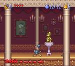 Bonkers (SNES) - Inside the mansion