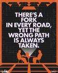 Fork in Every Road - Loki Poster