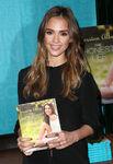 Jessica Alba promoting Honest Life book