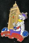 Queen Daisy at Big Ben pin