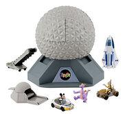 Spaceship Earth playset
