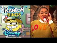 Tilly and Cricket Call Raven Symoné! - Holidays Unwrapped - Random Rings - Disney Channel
