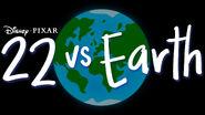 22 Vs. Earth Logo