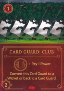 DVG Card Guard Club