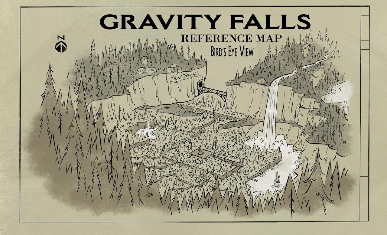 Gravity Falls (location)