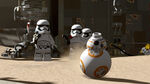 Lego BB-8 and Stormtroopers