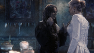 Once Upon a Time - 4x08 - Smash the Mirror - Rumple & Ingrid