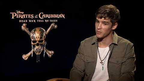 Pirates of the Caribbean 5 Interview - Brenton Thwaites