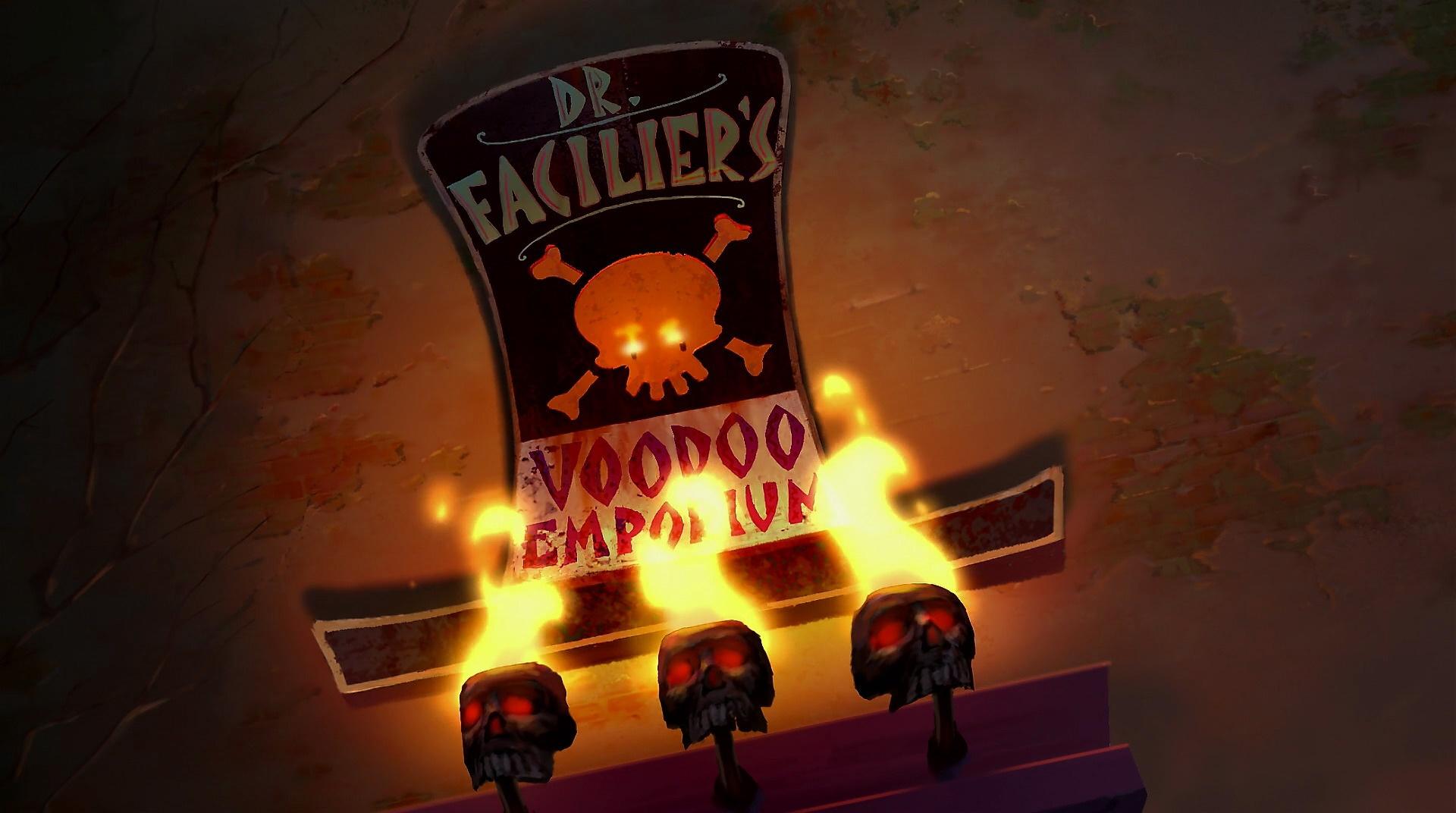 Empório de Vudu do Dr. Facilier