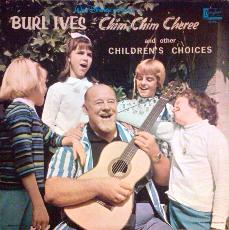 Walt Disney Presents Burl Ives: Chim Chim Cheree and Other Children's Choices