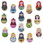 Disney ''Nesting Dolls'' Mystery Pin Pack
