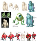 Monsters & Incredibles Concept