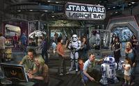 Star Wars Land Concept Art 05